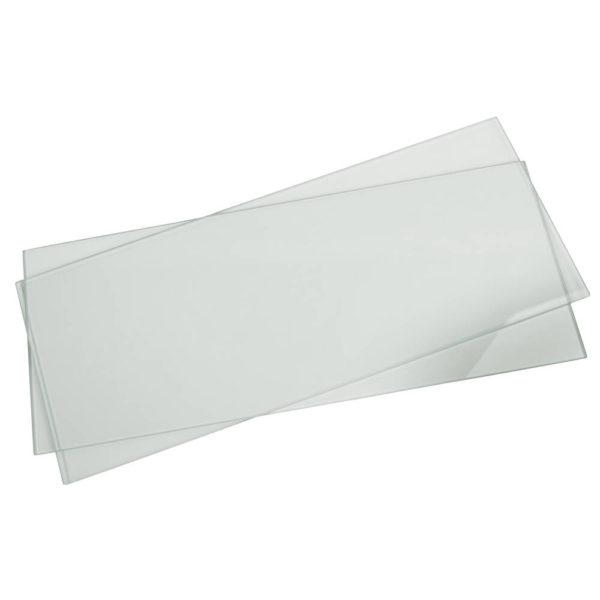 CSQ-20 Glass plates, Pk/2