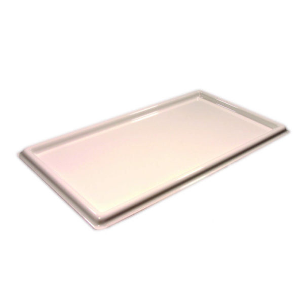 White BioHazard Spill Trays