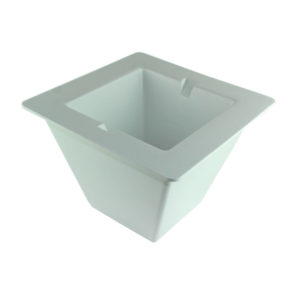 Large White Ice Bucket