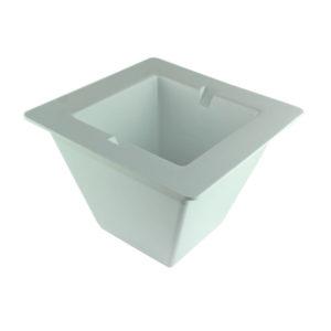 Large White Ice Bucket