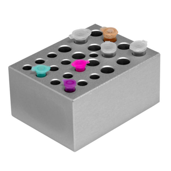 CUBE Dry Bath Combination block : for 0.5 ml tube