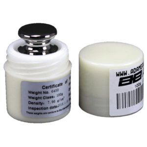 OIML Weights: E2 100g Calibration Weight