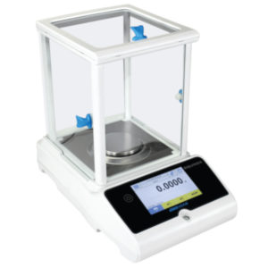 Equinox Analytical and Semi-Micro Balance, Capacity: 310g – Readability: 0.0001g – Pan size: 80mm Ø