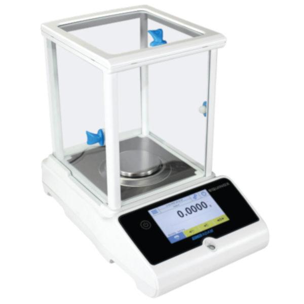 Equinox Analytical and Semi-Micro Balance, Capacity: 310g – Readability: 0.0001g – Pan size: 80mm Ø