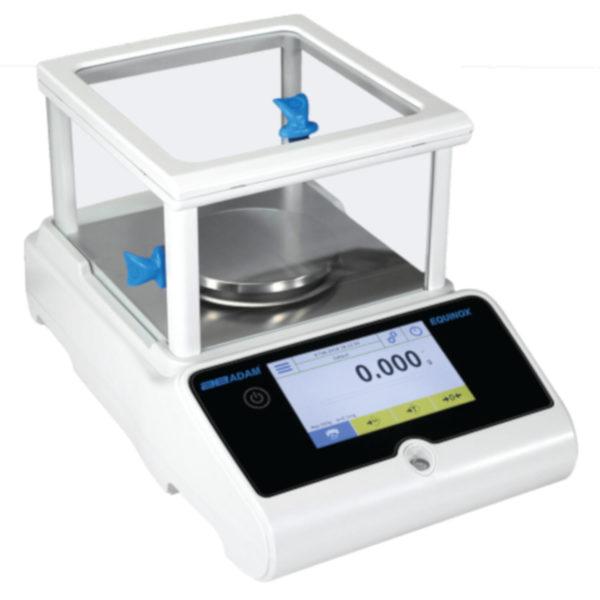 Equinox Precision Balance, Capacity: 360g – Readability: 0.001g – Pan size: 110mm Ø