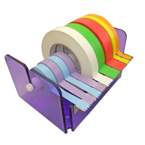 Acrylic Tape Dispenser for Identitape