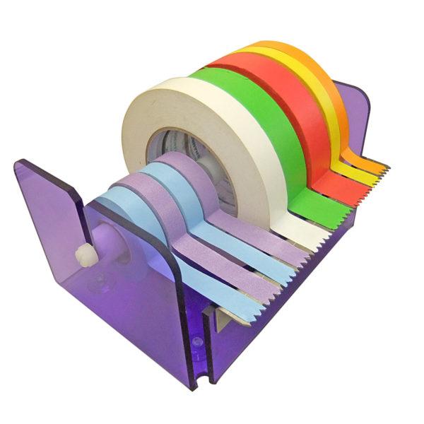 Acrylic Tape Dispenser for Identitape