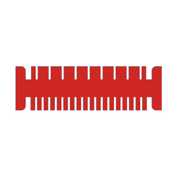 multiSUB-4 Comb, 18/8 sample, 1.5 mm thick