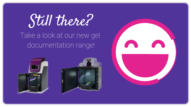 Take a look at our new gel documentation range