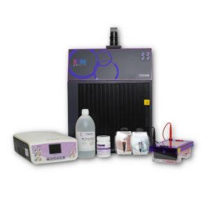 Complete Mini agarose gel documentation kit with gelLITE