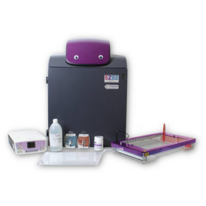 Complete Maxi agarose gel documentation kit with gelPRO